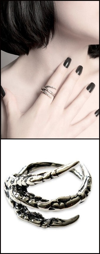#Raven #Claw #Ring ♥