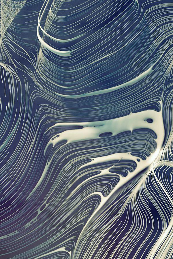 Curve descent pattern on Behance