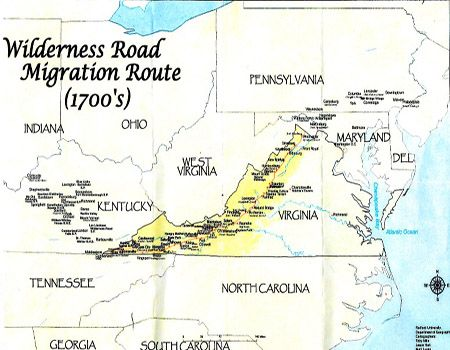 29 best jamison family of franklin co va images on pinterest migration route of the scots irish in america 1700s fandeluxe Gallery