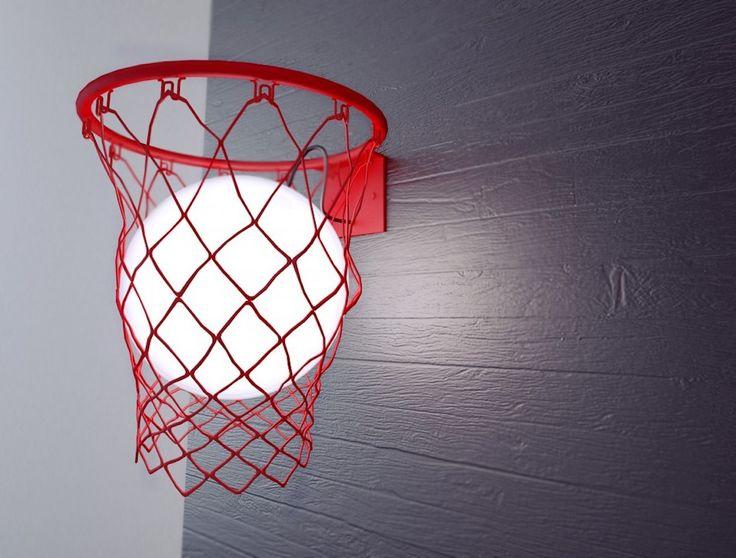 元バスケ部必見LED電球をバスケットボールに見立てたランプ