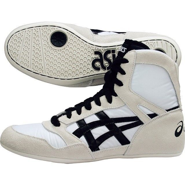 ASICS JAPAN Wrestling Shoes RT Model White TWR325 #Asics