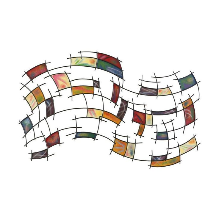 Wall Art Large Metal Abstract Sculpture Modern Foyer Home Decor Hanging Frame    #doesnotapply