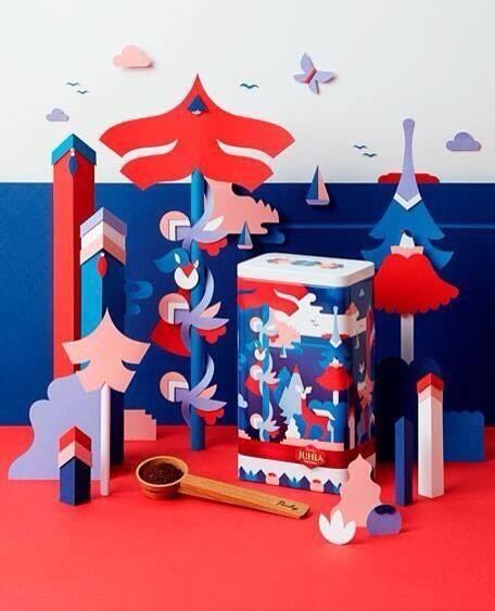 Juhla Mokka Design Tin 2014 by Janine Rewell