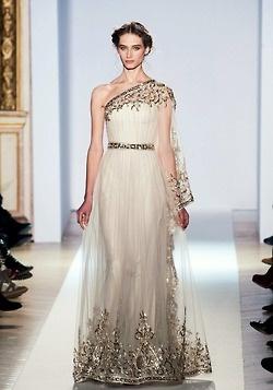 Zahir Murad Dress (Haute Couture SS 2013)                                          Zuhair Murad haute couture s/s 2013
