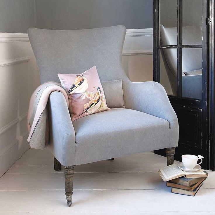 Bromley Wing Back Chair By Rowen Wren | Notonthehighstreet.com