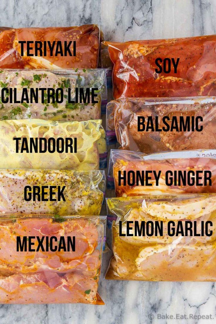 Diese 9 Schweinekotelettmarinaden sind leicht zu mischen und geben Ihren Schweinekoteletts so viel Geschmack. Marinieren und grillen, braten oder backen oder einfrieren für später!