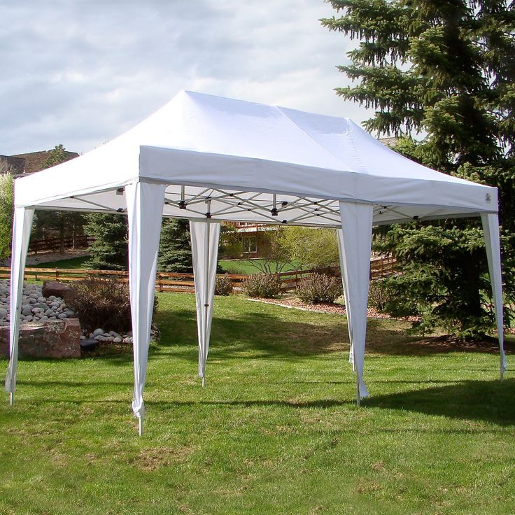 Have to have it. UnderCover 10 x 20 Super Lightweight Aluminum PARTY Instant Canopy - $319.98 @hayneedle