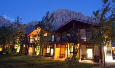 Utah - Desert Pearl Inn; great place to stay near Zion