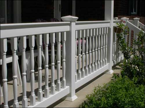 Porch Railing Vinyl For Front Porch The Front Porch