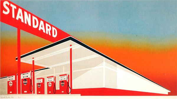 Abandoned Petrol Station Given New Lease of Life as a Pop Art Installation - The Chromologist