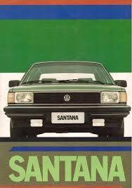 1985 VW Santana - Brasil