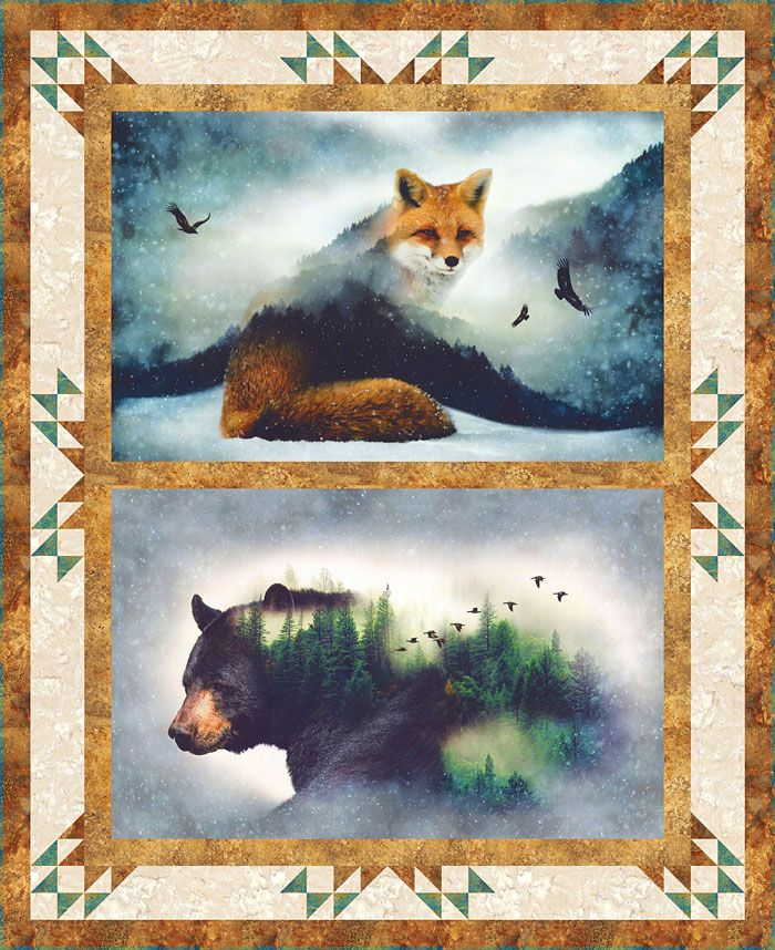 Free eQuilter Pattern - Call of the Wild http://www.equilter.com/pattern/834/call-of-the-wild?fn=pa_20170427195007