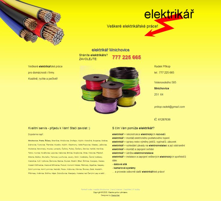 elektrikář Mnichovice