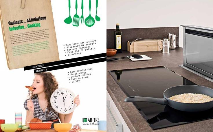 La cucina ad induzione: vantaggi e svantaggi   Visita: http://blog.ar-tre.it