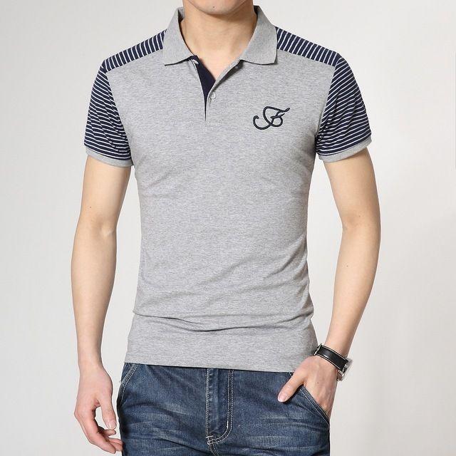 Hombres 2015 polo ralphly polo solid camisa masculina camisa polo 100% de la corto manga de gran tamaño plus 4XL alta calidad