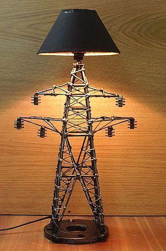 Hydro power line lamp