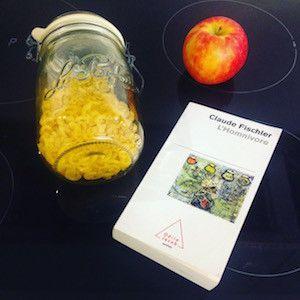"""Livre """"L'Homnivore"""" de Claude Fischler est un condensé de sociologie et d'histoire de la nutrition. Plus d'info sur @becausegus #sansgluten #glutenfree #livre #book"""