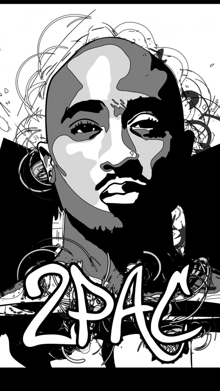1080x1920 2Pac download wallpaper for iPhone Fondos 4k