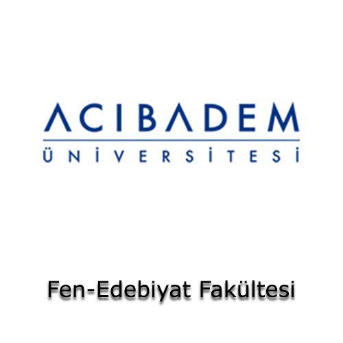 Acıbadem Üniversitesi - Fen-Edebiyat Fakültesi | Öğrenci Yurdu Arama Platformu