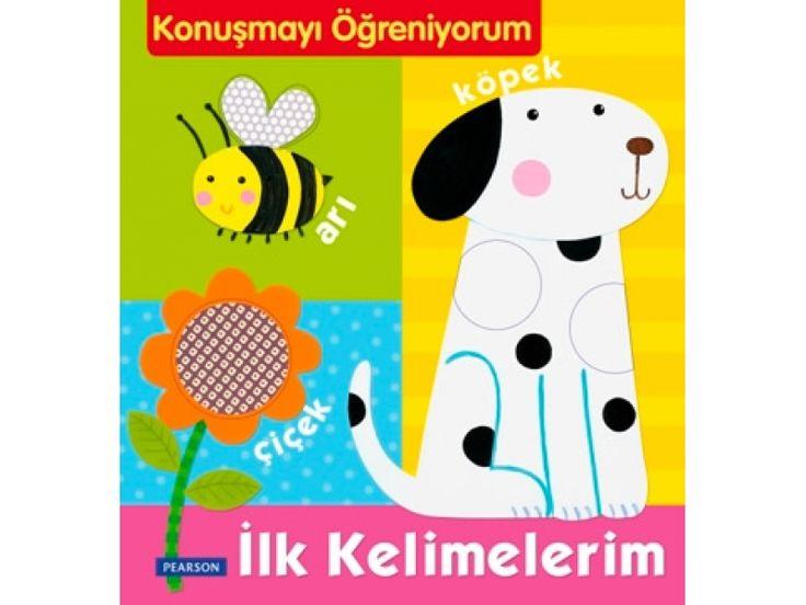Konuşmayı Öğreniyorum - İlk Kelimeler - Pearson, Bebek Kitapları Afacan Kitap çocuklar için eğitici kitap, eğitici oyuncak , mobilya!