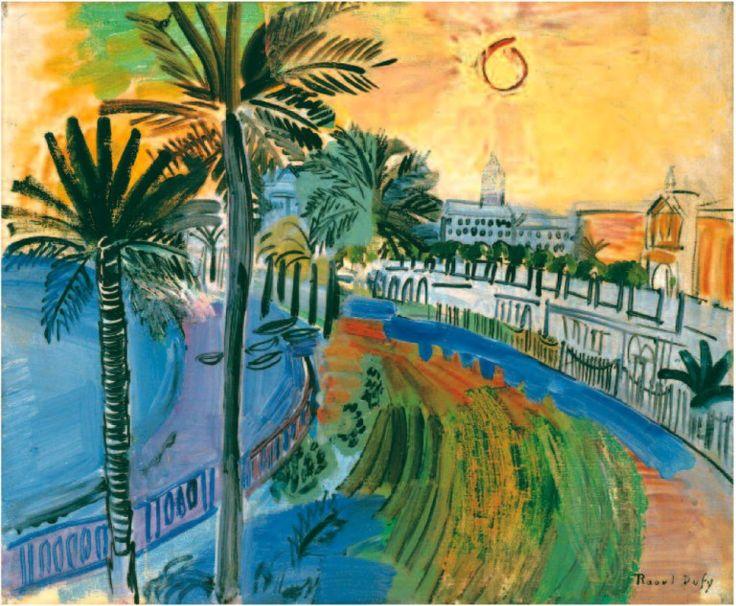 La Baie des Anges, Raoul Dufy