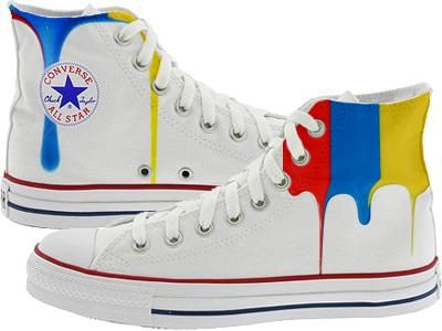 Hand painted Converse Chuck Taylors