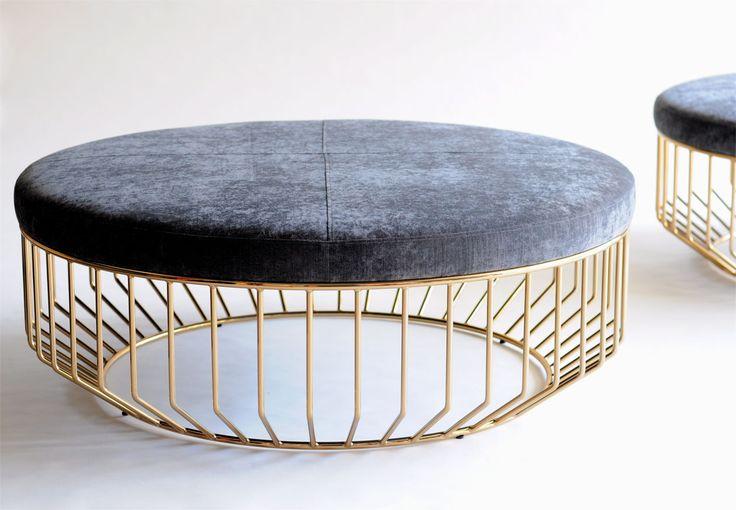 Wired Ottoman  Phase Design | Reza Feiz Designer