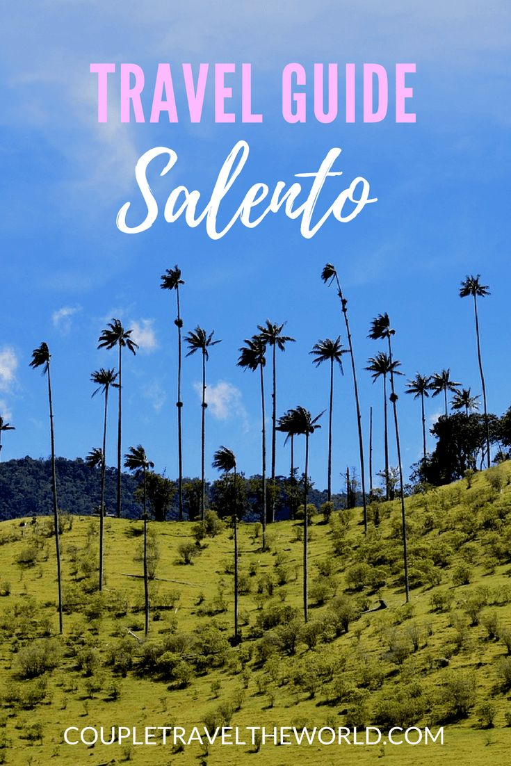 Travel Guide - Salento, Colombia including visiting the Cocora Valley. #Salento #Colombia #CocoraValley For more info visit coupletraveltheworld.com
