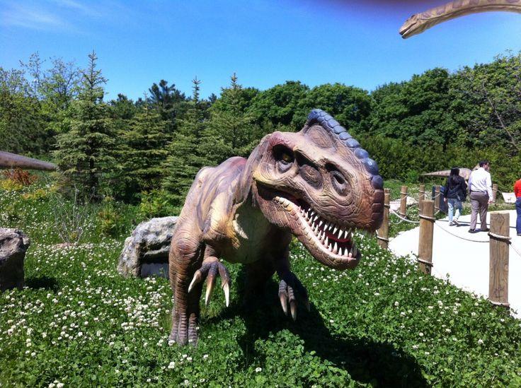 Ruuuuuuun! Dinosaurs Alive at Canada's Wonderland! www.dreamtravelmagazine.com