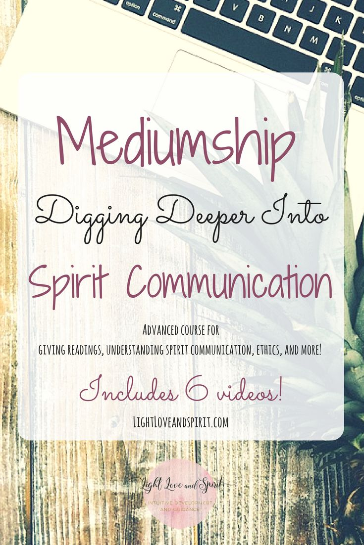 Mediumship course. Learn to give intuitive readings. Psychic development. Intuitive Development