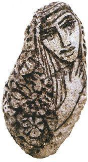9 blog ...άκια: Γιάννης Ρίτσος: Ζωγραφική πάνω σε πέτρες...