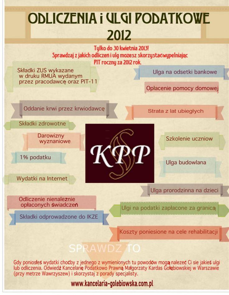 termin składania zeznań podatkowych za 2012