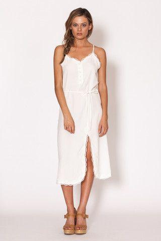 Amilita - Lyla Dress   white   lace   summer   classic   bohemian   boho   model style   Paved Paradise