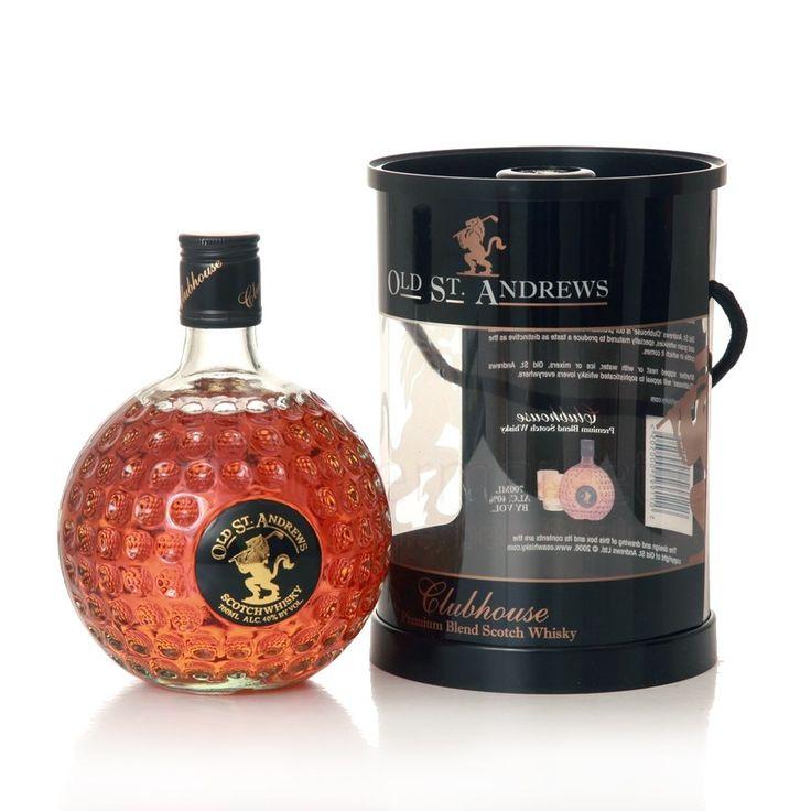 La bouteille de whisky en forme de balle de golf un produit phare de cette société.
