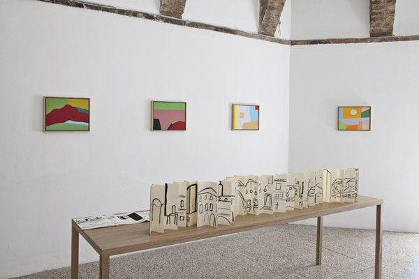 Etel Adnan, 2013, exhibition view, Galleria Continua San Gimignano. Photo by: Ela Bialkowska.
