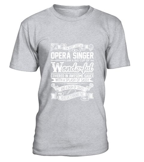 # Opera Singer Big Cup Wonderful Sauce Sassy Crazy T-Shirt .  Opera Singer Big Cup Wonderful Sauce Sassy Crazy T-Shirt  HOW TO ORDER: 1. Select the style and color you want: 2. Click Reserve it now 3. Select size and quantity 4. Enter shipping and billing information 5. Done! Simple as that! TIPS: Buy 2 or more to save shipping cost!  This is printable if you purchase only one piece. so dont worry, you will get yours.  Guaranteed safe and secure checkout via: Paypal | VISA | MASTERCARD