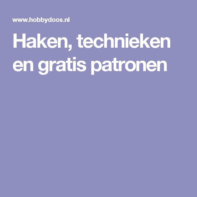 Haken, technieken en gratis patronen