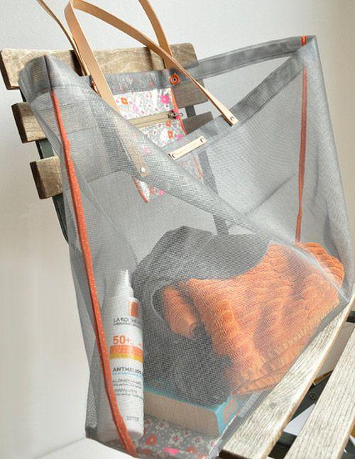 DIY: beach bag