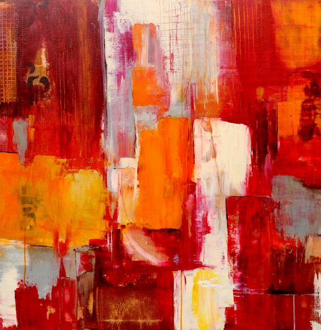 Queen Of Hearts Gallery ABSTRACTS by ERIN ASHLEY