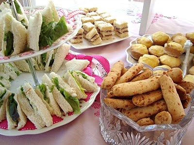 Recipes from Miss Cupcake's Christening Luncheon #tea party #luncheon #baptism #party recipes