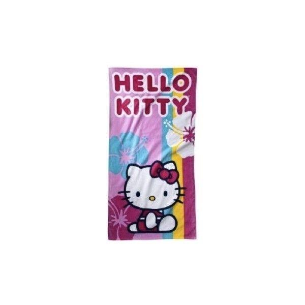 hello kitty beach towel cheap hello kitty beach towel on sale liked on - Beach Towels On Sale