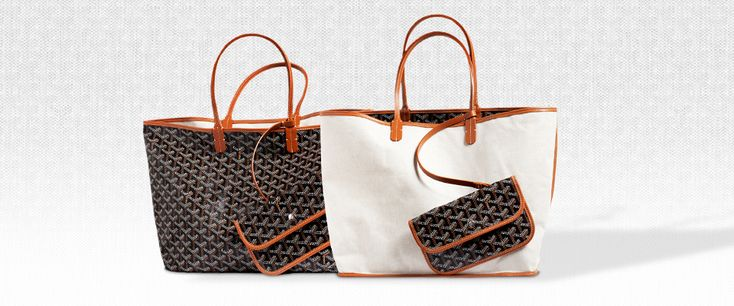Maison Goyard, Paris France -   Saint-Louis Tote - PM or GM (T1 or T10) Can't decide! $940 approx + monogram