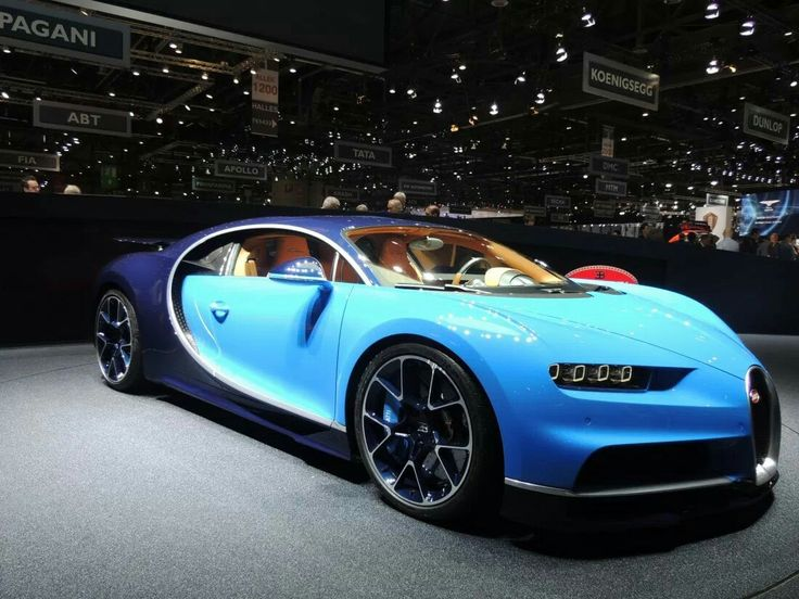 Bugatti Chiron  #9 The 20 Sexiest Cars of 2016