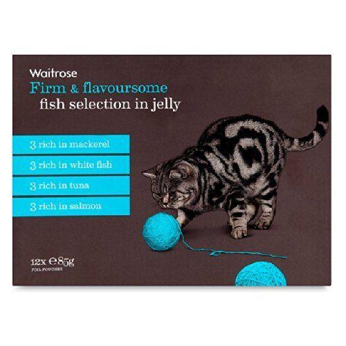 Aus der Kategorie Nassfutter  gibt es, zum Preis von EUR 14,79  Sonder Rezept Fisch Auswahl Waitrose Sonder Rezept ist ein Komplettfutter für Katzen 3 x Brocken in Gelee mit Thunfisch und Garnelen 3 x Brocken in Gelee mit Lachs und Scholle 3 x Brocken in Gelee mit Forelle und Garnelen 3 x Brocken in Gelee mit Kabeljau und Seezunge. - Vorbereitung und Verwendung: Feeding Leitlinien-Feed erwachsene Katzen mindestens zweimal pro Tag, um Ihre eigenen Katzen Zufriedenheit. Eine durchschnittliche…