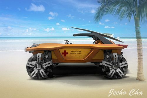 2046 Jeep Unlimited, American Red Cross Rescue, Geeho Cha