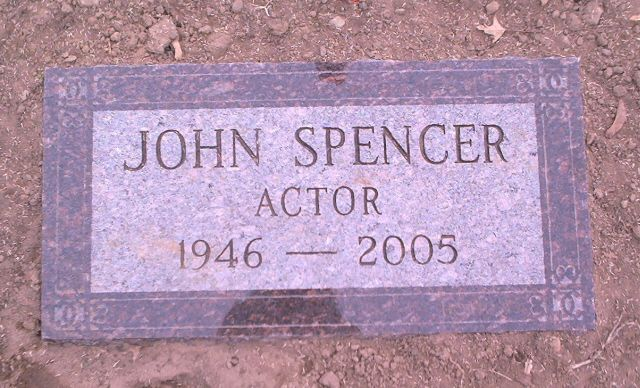 "John Spencer (1946 - 2005) He played Leo McGarry on the TV series ""The West Wing"" and Tommy Mullaney in the series ""L.A. Law"""