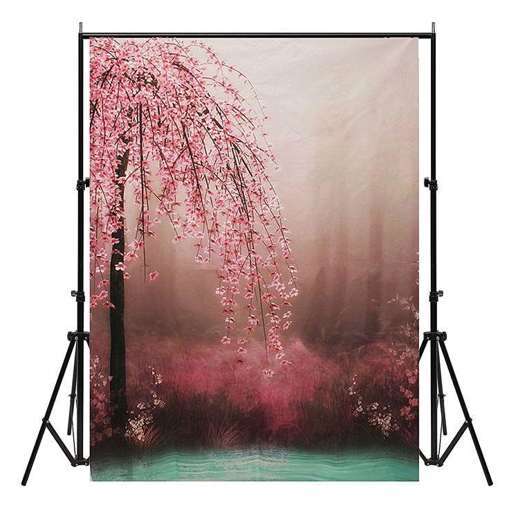 7x5ft romántica flor de vinilo de fondo de fotografía de fondo estudio de fotos de fondo telón de fondo