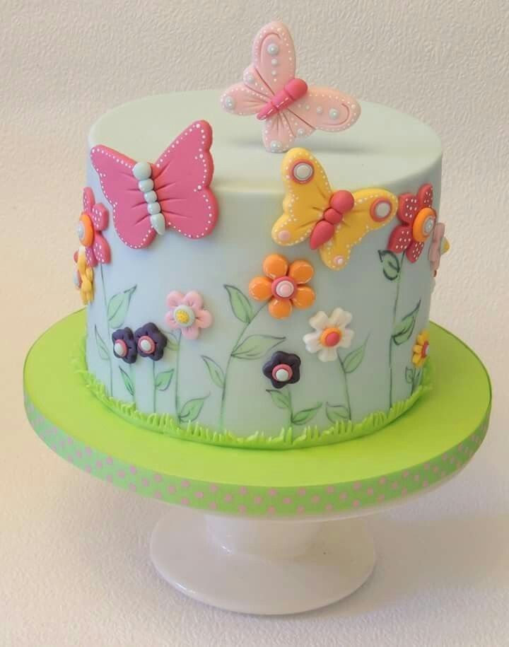 Butterfly cake by Shereen