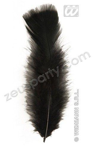 CARNEVALE accessori PIUME NERE 50 pz | eBay
