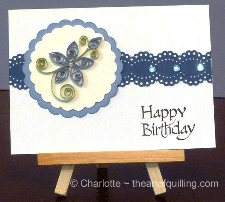 139 best quilled cards images on pinterest quilling paper quilled birthday card stopboris Choice Image
